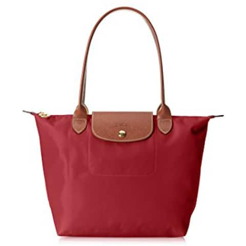 Longchamp tote red bag