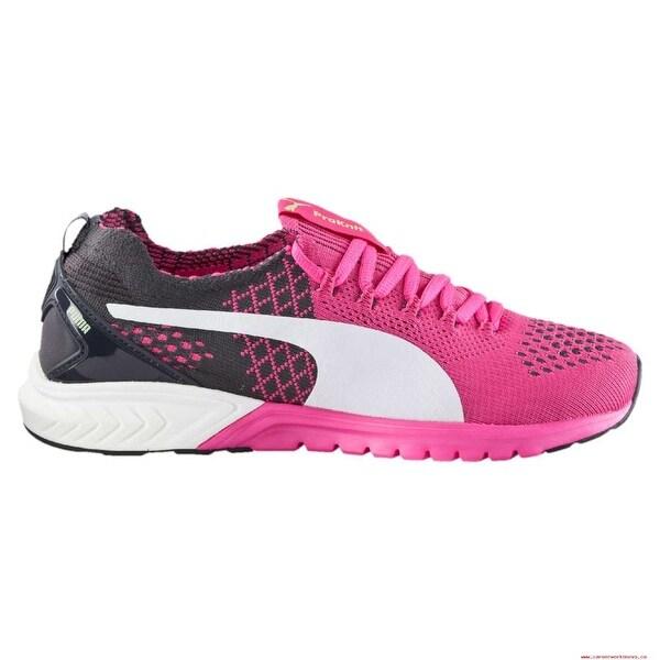 eb644b57d461 Shop PUMA Womens ignite dual evoknit Low Top Lace Up Running Sneaker ...