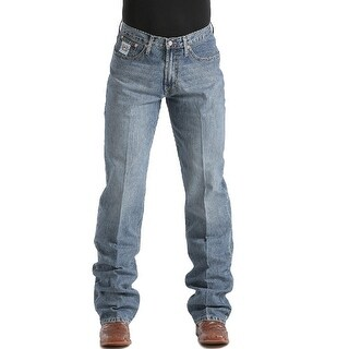 Cinch Western Denim Jeans Mens White Label Rlx Stonewash