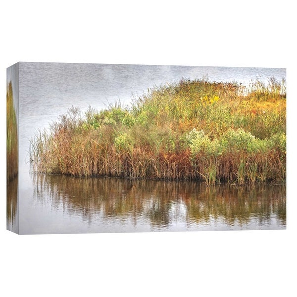 "PTM Images 9-103771 PTM Canvas Collection 8"" x 10"" - ""Marsh 2"" Giclee Rural Art Print on Canvas"