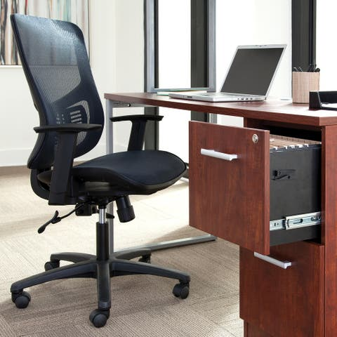 Essentials by OFM Mesh Seat Ergonomic Office Chair