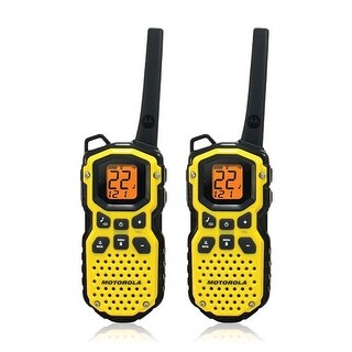 Motorola MS350R Talkabout FRS/GMRS Two Way Radio with Up To 35 Mile Range