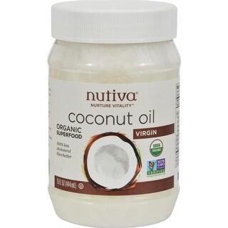 Nutiva - Extra-Virgin Coconut Oil ( 2 - 15 FZ)