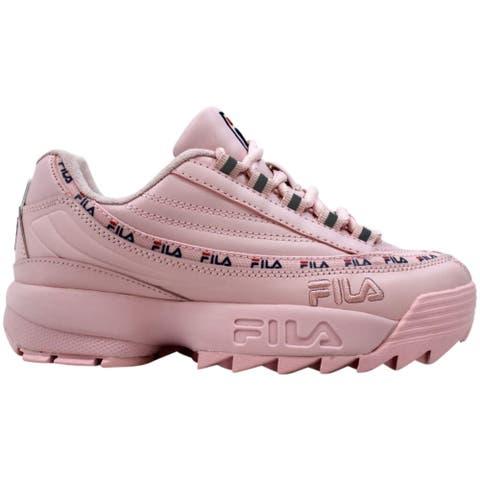 Fila DRST 97 x Disruptor II Chuck Pink/Fila Navy/Fila Red 5RM00669-682 Women's Size 5.5