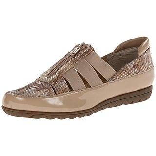 VANELi Womens Ardeen Patent Leather Stretch Flats - 9.5 narrow (aa,n)