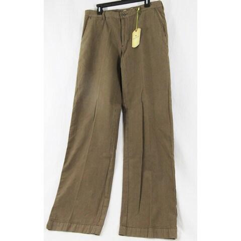 Tommy Bahama Chocolate Color Khaki Size 34X32 Pants