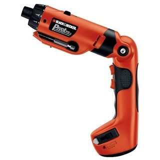 Black & Decker PD600 Pivot Plus Drill & Screwdriver, 6 Volt