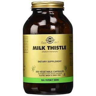 Solgar - FP Milk Thistle Vegetable Capsules - 250