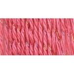 Satin Sparkle Yarn-Coral - Orange