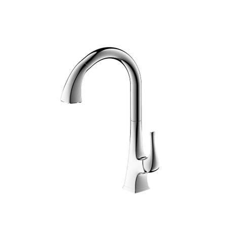 Ultra Faucets Quest Collection Single-Handle Kitchen Faucet With Pull-Down Spray