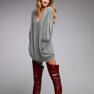 Womens V Neck Long Sleeve Casual Tunic Tops Loose Shirts with Pockets
