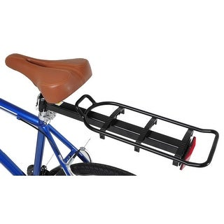 "Bike Seat Post Mounted Rear Rack Commuter Carrier, fits 26"", 700c, 27.5"", and 29"" bikes"