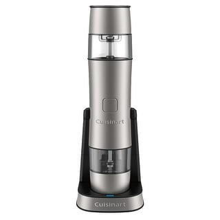 Cuisinart SG-3 Rechargeable Salt, Pepper and Spice Mill, Stainles Steel