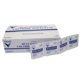 North Safety 068-155201S First Aid Safetec Antiseptic Wipe