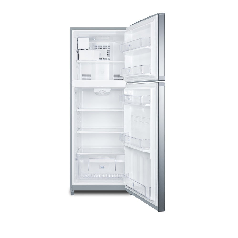 """Summit  FF1427IM  26"""" Wide 12.9 Cu. Ft. Top Mount Refrigerator with Icemaker (White)"""