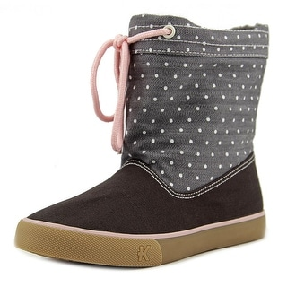 See Kai Run Guthrie Round Toe Canvas Boot