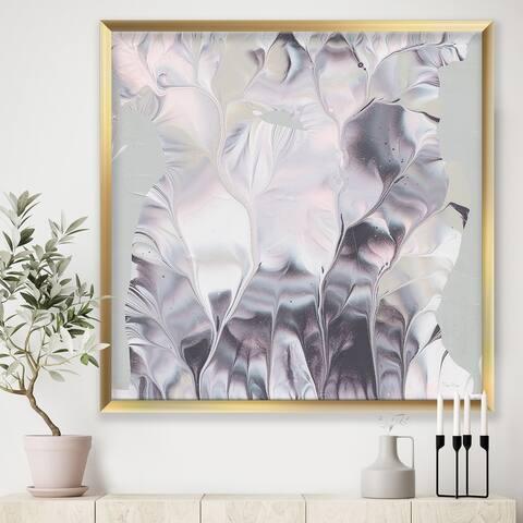 Designart 'Light and Shadow I' Modern Farmhouse Premium Framed Art Print