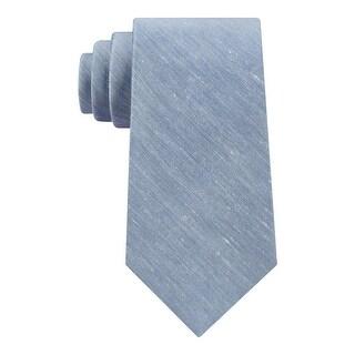 Calvin Klein Mens Neck Tie Linen Slim - o/s