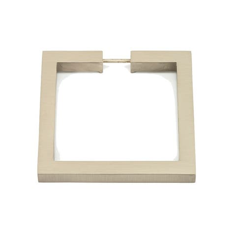 """Alno A2671-3 3"""" Square Cabinet Ring Pull"""