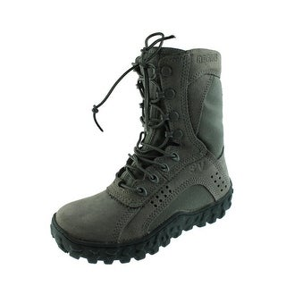 Rocky Mens Textured Lace Up Combat Boots - 7 medium (d)