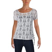 Merrell Womens T-Shirt Printed Sheer