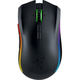 """Razer RZ01-01360100-R3U1 Razer Mamba Mouse - Laser - Cable/Wireless - Black - USB 2.0 - 16000 dpi - Computer - Tilt Wheel - 9"