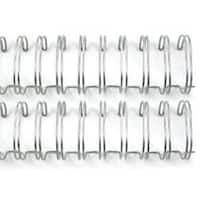 "Silver - Cinch Wires 1"" 2/Pkg"