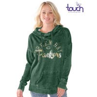 Green Bay Packers Fade Route Hoodie