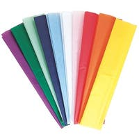 Spectra Deluxe Kolorfast Non-Bleeding Art Tissue Paper, 20 X 30 in, Assorted Color, Pack of 10