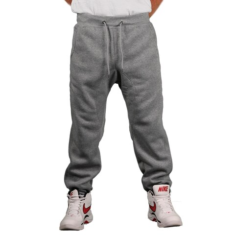 Brooklyn Xpress Men's Fleece Solid Jogger Pant