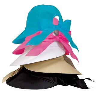Women's Wide Brim Sun Hat - Provides UV Protection UPF50 (4 options available)
