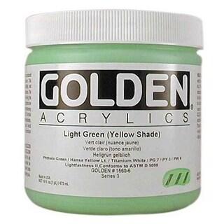 Golden - Heavy Body Acrylic - Pint Jar - Hansa Yellow Medium