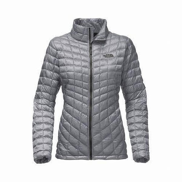 e5f4f386c Shop The North Face Gray Women's Size XXL Plus Puffer Full-Zip ...