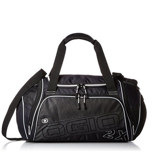 Ogio Endurance 2X Duffel Gym Bag 720659-01 Black/Silver