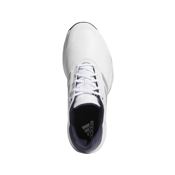 Adidas Men's Adipower Bounce White/Silver Metallic/Noble Ink Golf ...