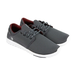 Etnies Scout Mens Grey Synthetic Lace Up Sneakers Shoes