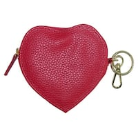 Buxton Heart Shaped Coin Purse Wallet - one size