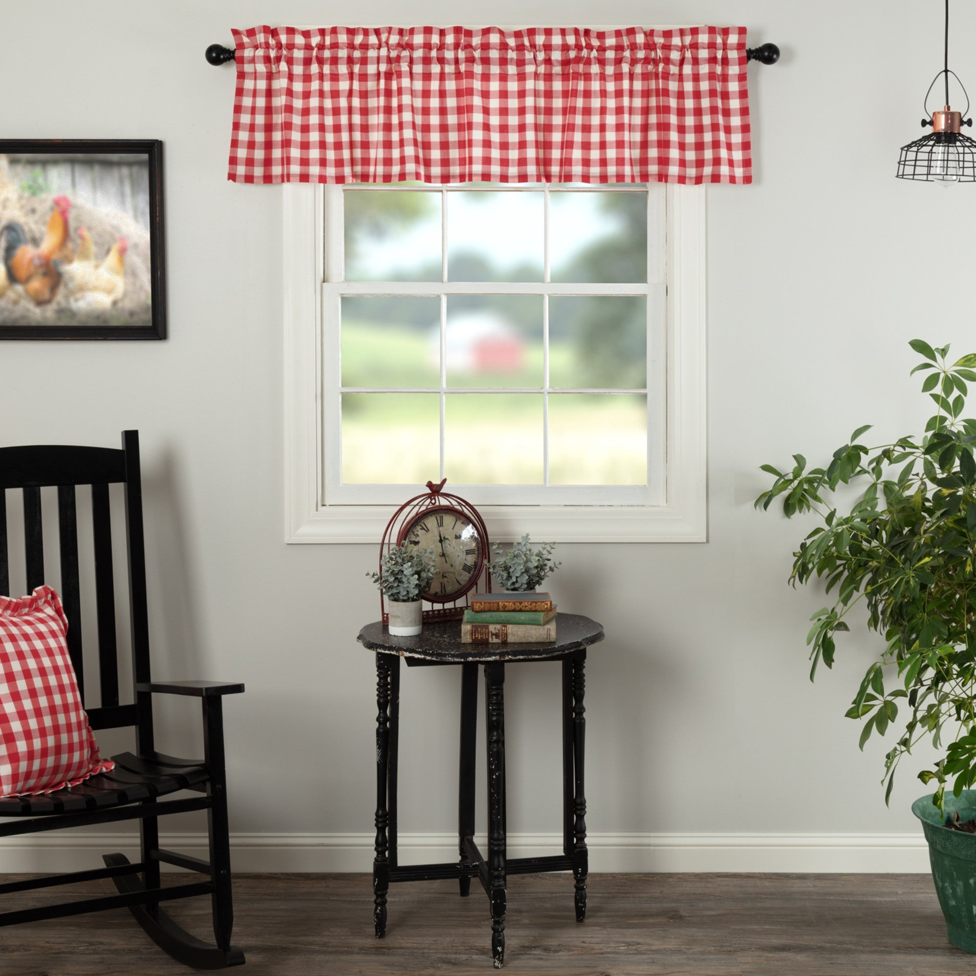Annie Buffalo Check Valance On Sale Overstock 19486925