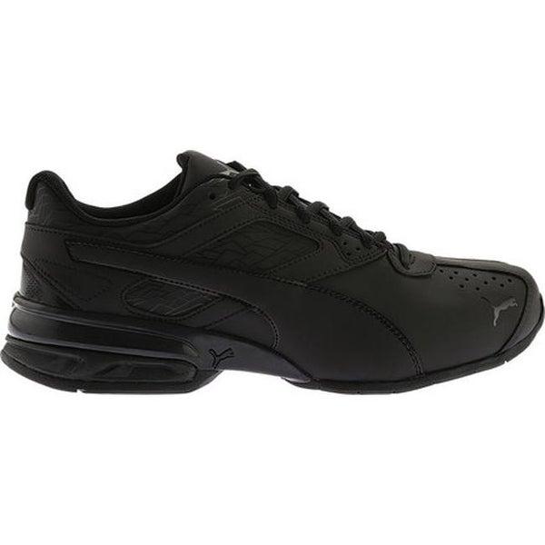 puma tazon black sports shoes