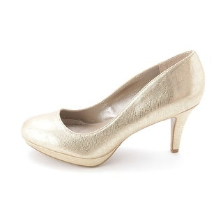 Alfani Womens MADYSON Closed Toe Platform Pumps