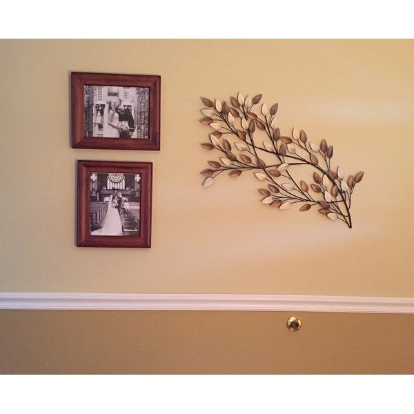 aacd6ae6a6 Shop Copper Grove Kitty West Blowing Leaves Wall Decor - On Sale - Free  Shipping Today - Overstock - 19856466
