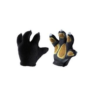Disguise Panda-Po Soft Big Hands Child Gloves - Black