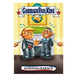 GPK: Disg-Race To The White House: Begrudging Barack #67 - multi