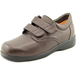 Apex 1260M Round Toe Leather Walking Shoe