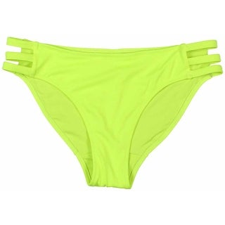 Miss Mandalay Womens Stretch Cut-Out Swim Bottom Separates - M