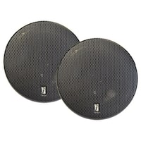 "PolyPlanar MA8505B 5"" 3-Way Titanium Series Marine Speakers, Pair - Black"