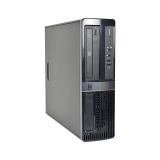 HP Compaq DX7500 Core2Duo 2.8GHz CPU 4GB RAM 160GB HDD Windows 10 Home SFF PC (Refurbished)