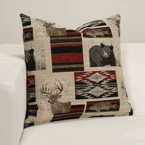 Redstone Designer Throw Pillow