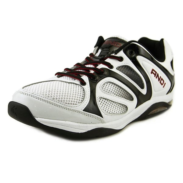 And1 Duncan Men Wht/Blk Basketball Shoes