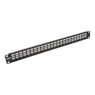 Tripp Lite - N254-024-Sh-6A Patch Panel Shielded Feedthrough Rackmoun